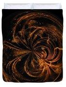 Morphed Art Globe 40 Duvet Cover
