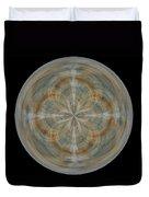 Morphed Art Globes 25 Duvet Cover