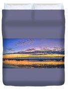Morro Bay Panorama Duvet Cover