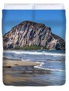 Morro Rock Duvet Cover