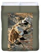 Morro Rock Nesting Duvet Cover
