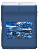 Morro Strand Reflections Duvet Cover