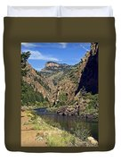 Morrow Point Reservoir Duvet Cover