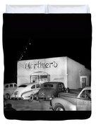 Mortimers Dining  Dancing Marina California  Circa 1948 Duvet Cover