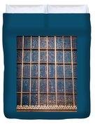 Mosaic Alamo In Glass Duvet Cover