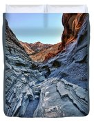 Mosaic Canyon In Death Valley Duvet Cover
