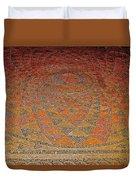 Mosaic Floor In Bergama Museum-turkey Duvet Cover