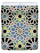 Mosaic Pavement In The Dressing Room Of The Sultana Duvet Cover