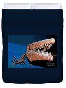 Mosasaur Tylosaurus Proiger Duvet Cover