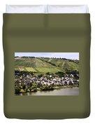 Mosel Wine Village Duvet Cover