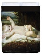 Moses In The Bullrushes Duvet Cover