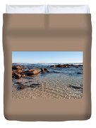 Moses Rock Beach 04 Duvet Cover