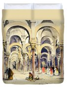 Mosque At Cordoba, From Sketches Duvet Cover