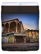 Mosque In Monastiraki Duvet Cover