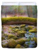 Moss Bridge Duvet Cover