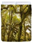 Moss-covered Maple Grove Duvet Cover