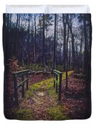Moss Covered Path Duvet Cover