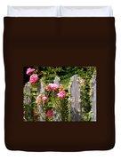 Moss Fence Duvet Cover