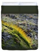 Moss In The Light Duvet Cover