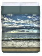 Moss Landing In The Clouds Duvet Cover