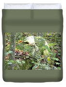 Moss Rock 3 Duvet Cover