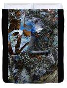 Moss Veils And Illuminated  Duvet Cover