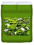 Mosscape Duvet Cover