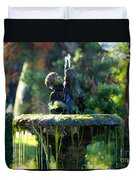 Mossy Fountain Duvet Cover