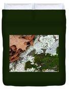 Mossy Leaves Duvet Cover