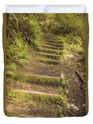 Mossy Path Duvet Cover