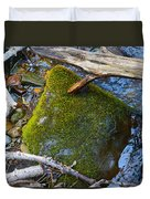 Mossy Rock Duvet Cover