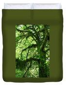 Mossy Tree Duvet Cover by Athena Mckinzie