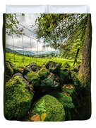 Mossy Wall Duvet Cover