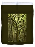 Mossy Welsh Forest  Duvet Cover