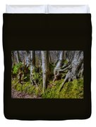 Mossy Woodland  Duvet Cover