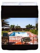 Motel Pool 3 Duvet Cover