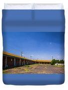 Motel Rooms 2 Duvet Cover