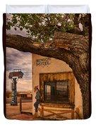 Motel Vacancy Duvet Cover