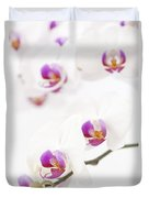 Moth Orchid Duvet Cover