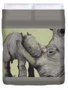 Mother And Baby 1 Duvet Cover