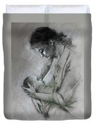 Mother And Baby Duvet Cover