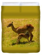 Mother And Child Duvet Cover