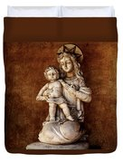 Mother And Child Reunion Duvet Cover