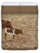 Mother And Child V5 Duvet Cover