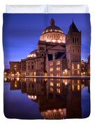 Mother Church Boston Duvet Cover