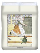 Mother Goose, 1916 Duvet Cover
