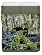 Mother Nature Rules Supreme Duvet Cover