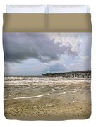 Mother Nature's Wrath Duvet Cover