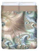 Mother Of Pearl - A Fractal Abstract Duvet Cover
