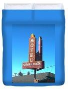 Mother Road Motel Duvet Cover